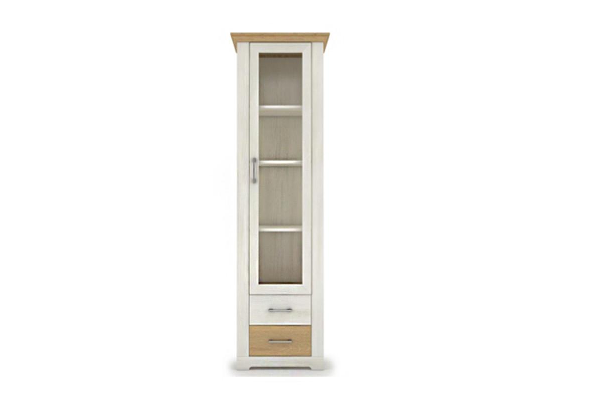 Шкаф витрина 1Д , коллекции Арсал, Сосна Норвежская, VMV (Украина)