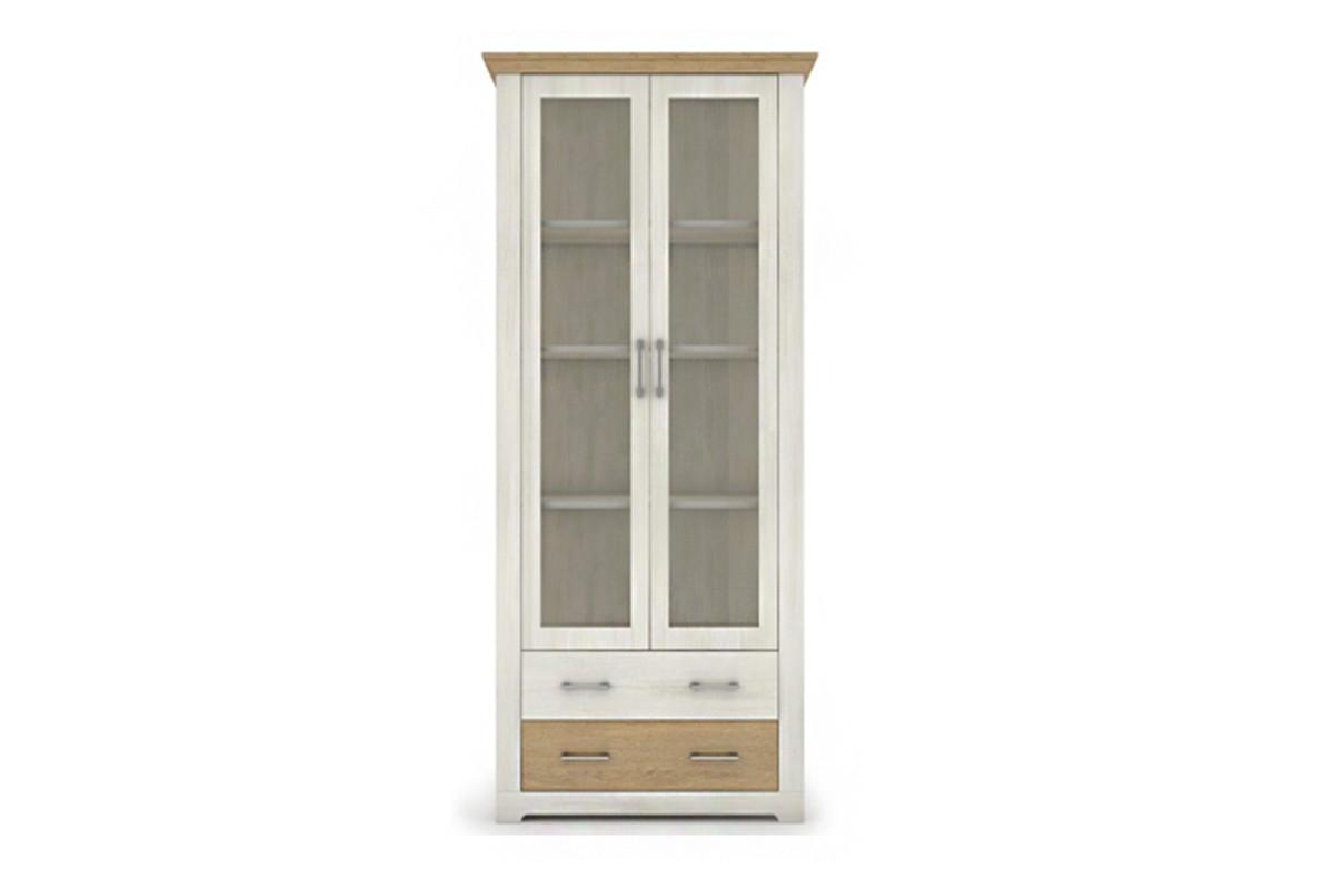 Шкаф витрина 2Д , коллекции Арсал, Сосна Норвежская, VMV (Украина)