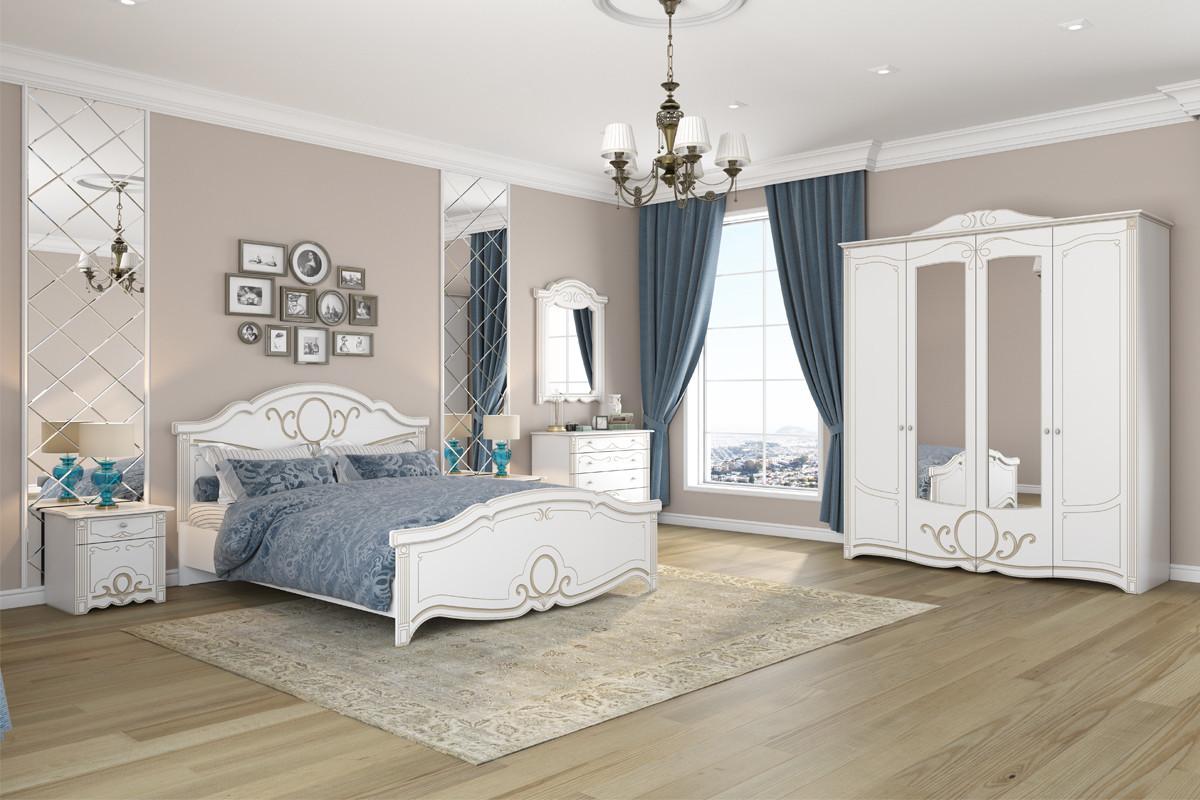 Комплект мебели для спальни Барбара, Белый, Империал(Россия)