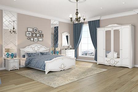 Комплект мебели для спальни Барбара, Белый, Империал(Россия), фото 2