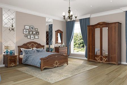 Комплект мебели для спальни Барбара, Орех, Империал(Россия), фото 2