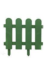 Забор декоративный GRINDA, 29×224см, зеленый, 422209-G