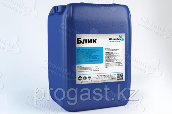 Щелочной пенный препарат для очистки и обезжиривания твердых поверхностей.