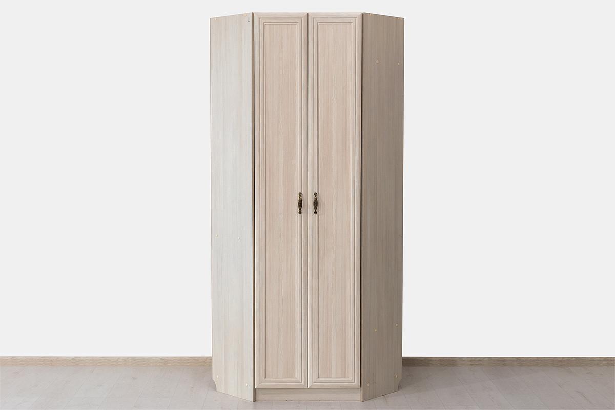 Шкаф для одежды угловой 2Д коллекции Вега, Сосна Карелия, СВ Мебель (Россия)