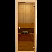 Дверь Hot Line #1261К (бронза, осина 1с)