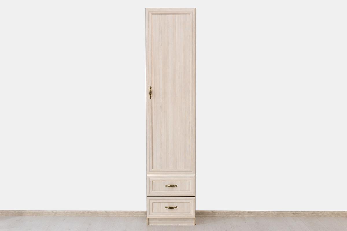 Шкаф пенал 1Д (Вега Шкаф 1D) коллекции Вега, Сосна Карелия, СВ Мебель (Россия)