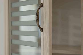 Шкаф витрина 1Д , коллекции Вега, Сосна Карелия, СВ Мебель (Россия), фото 3
