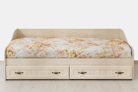 Кровать односпальная, коллекции Вега, Сосна Карелия, СВ Мебель (Россия), фото 2