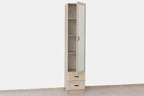 Шкаф пенал 1Д коллекции Вега, Сосна Карелия, СВ Мебель (Россия), фото 3