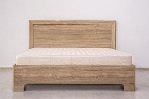 Кровать двуспальная коллекции Вега Прованс, Дуб Сонома, Кураж (Россия), фото 2