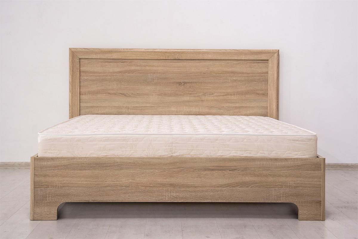 Кровать двуспальная (Кровать-1 160), коллекции Вега Прованс, Дуб Сонома, Кураж (Россия)