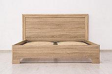 Кровать двуспальная (Кровать-1 160), коллекции Вега Прованс, Дуб Сонома, Кураж (Россия), фото 2