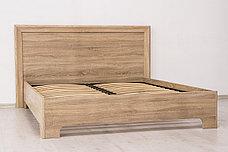 Кровать двуспальная (Кровать-1 160), коллекции Вега Прованс, Дуб Сонома, Кураж (Россия), фото 3
