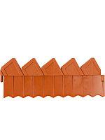 Ограждение для клумб 288 см, коричневое, Grinda 8-422303_z01