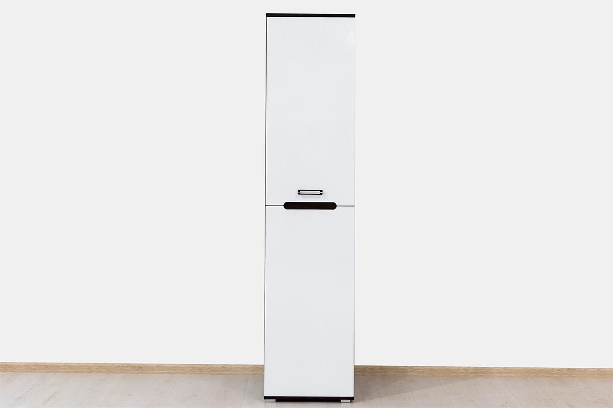 Шкаф пенал 1Д (1Д), коллекции Вегас, Белый, Горизонт (Россия)