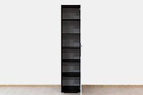 Шкаф пенал 1Д (1Д), коллекции Вегас, Белый, Горизонт (Россия), фото 2