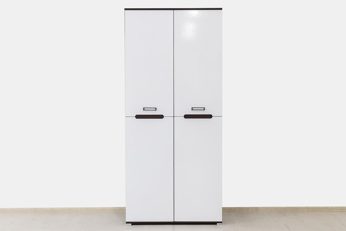 Шкаф для одежды 2Д  (2Д), коллекции Вегас, Белый, Горизонт (Россия)