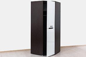 Шкаф для одежды угловой 1Д (1Д), коллекции Вегас, Белый, Горизонт (Россия), фото 2