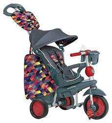 Велосипед Smart Trike 5в1 Explorer Black-Red