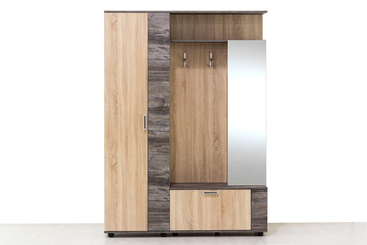 Шкаф прихожая 4Д Виза 17, Сосна Джексон, СВ Мебель (Россия)