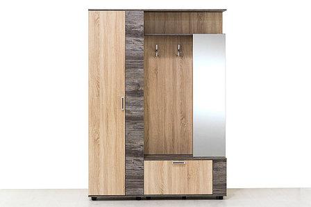 Шкаф прихожая 4Д Виза 17, Сосна Джексон, СВ Мебель (Россия), фото 2