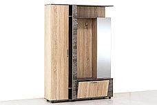 Шкаф прихожая 4Д Виза 17, Сосна Джексон, СВ Мебель (Россия), фото 3
