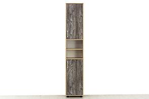 Шкаф пенал 2Д модульной системы Визит 1, Сосна Джексон, СВ Мебель (Россия), фото 2