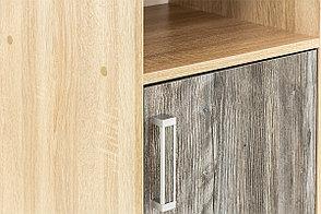 Шкаф пенал 2Д модульной системы Визит 1, Сосна Джексон, СВ Мебель (Россия), фото 3