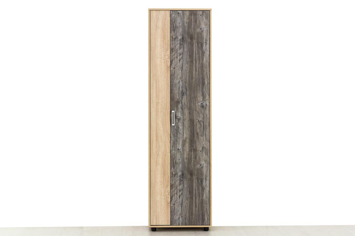 Шкаф для одежды 2Д (2Д), модульной системы Визит 1, Сосна Джексон, СВ Мебель (Россия)