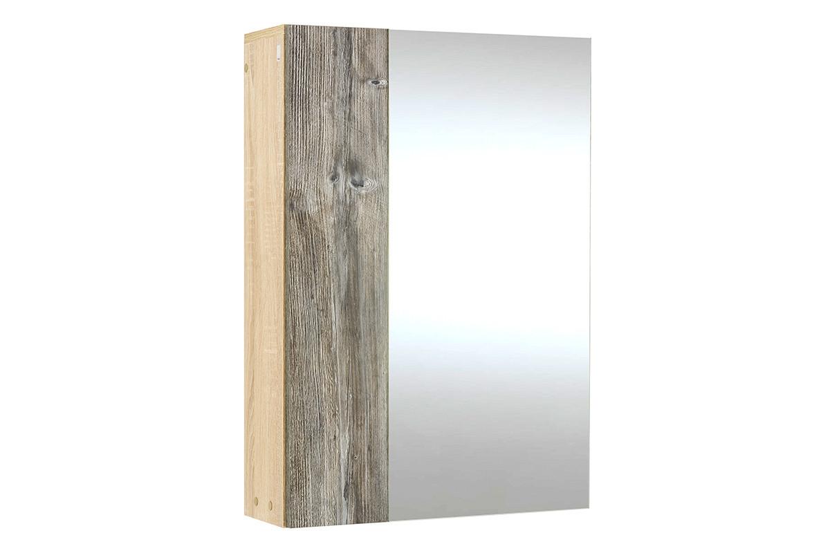 Шкаф для белья навесной 1Д , модульной системы Визит 1, Сосна Джексон, СВ Мебель (Россия)
