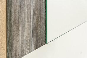 Шкаф для белья навесной 1Д , модульной системы Визит 1, Сосна Джексон, СВ Мебель (Россия), фото 2