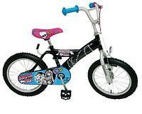 """Monster High Велосипед """"Школа Монстров"""" черный"""