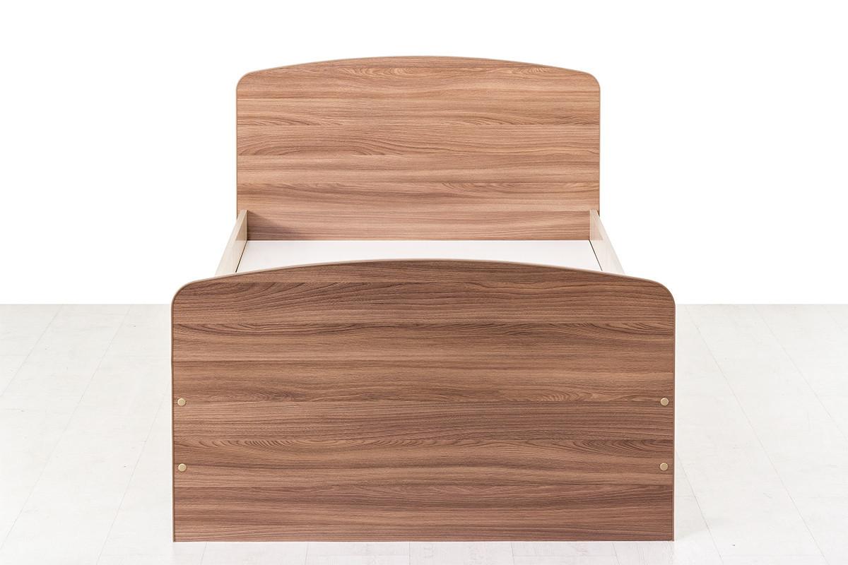Кровать односпальная, модульной системы Город, Ясень Шимо светлый, СВ Мебель (Россия)