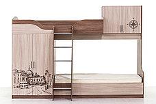 Кровать двухъярусная, модульной системы Город, Ясень, СВ Мебель (Россия), фото 3