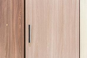 Шкаф для одежды угловой 1Д , модульной системы Город, Ясень Шимо светлый, СВ Мебель (Россия), фото 3