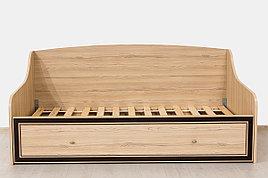 Кровать односпальная, коллекции Дисней, Дуб Светлый, MEBEL SERVICE (Украина)