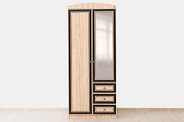 Шкаф для одежды  2Д  (Дисней шкаф 2Д3Ш) модульной системы Дисней, Дуб Светлый, MEBEL SERVICE (Украина)