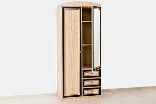 Шкаф для одежды  2Д  (Дисней шкаф 2Д3Ш) модульной системы Дисней, Дуб Светлый, MEBEL SERVICE (Украина), фото 2