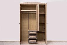 Шкаф для одежды 3Д модульной системы Дисней, Дуб Светлый, MEBEL SERVICE (Украина), фото 2