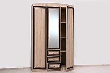 Шкаф для одежды 3Д модульной системы Дисней, Дуб Светлый, MEBEL SERVICE (Украина), фото 3