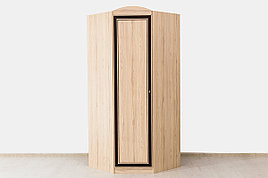 Шкаф для одежды угловой  1Д  модульной системы Дисней, Дуб Светлый, MEBEL SERVICE (Украина)
