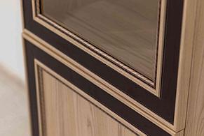 Шкаф витрина 2Д модульной системы Дисней, Дуб Светлый, MEBEL SERVICE (Украина), фото 2