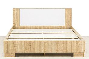Кровать двуспальная, модульной системы Лагуна 2, Белый Глянец, СВ Мебель (Россия), фото 2