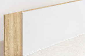 Кровать двуспальная, модульной системы Лагуна 2, Белый Глянец, СВ Мебель (Россия), фото 3