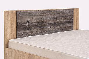 Кровать двуспальная, модульной системы Лагуна 2, Сосна Джексон, СВ Мебель (Россия), фото 2