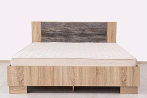 Кровать двуспальная, модульной системы Лагуна 2, Сосна Джексон, СВ Мебель (Россия), фото 3