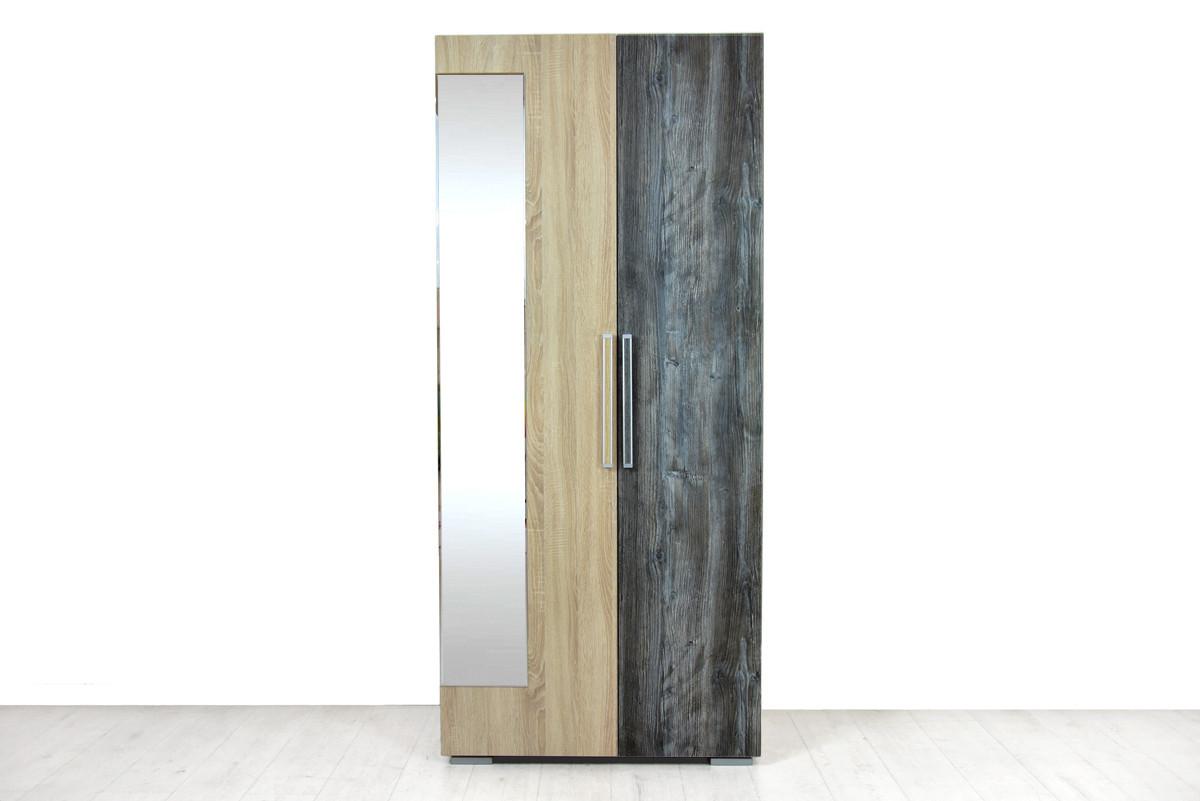 Шкаф для одежды 2Д , модульной системы Лагуна 2, Сосна Джексон, СВ Мебель (Россия)