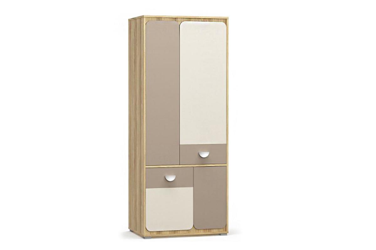 Шкаф для одежды 4Д (4Д) Лами, Капучино, MEBEL SERVICE (Украина)