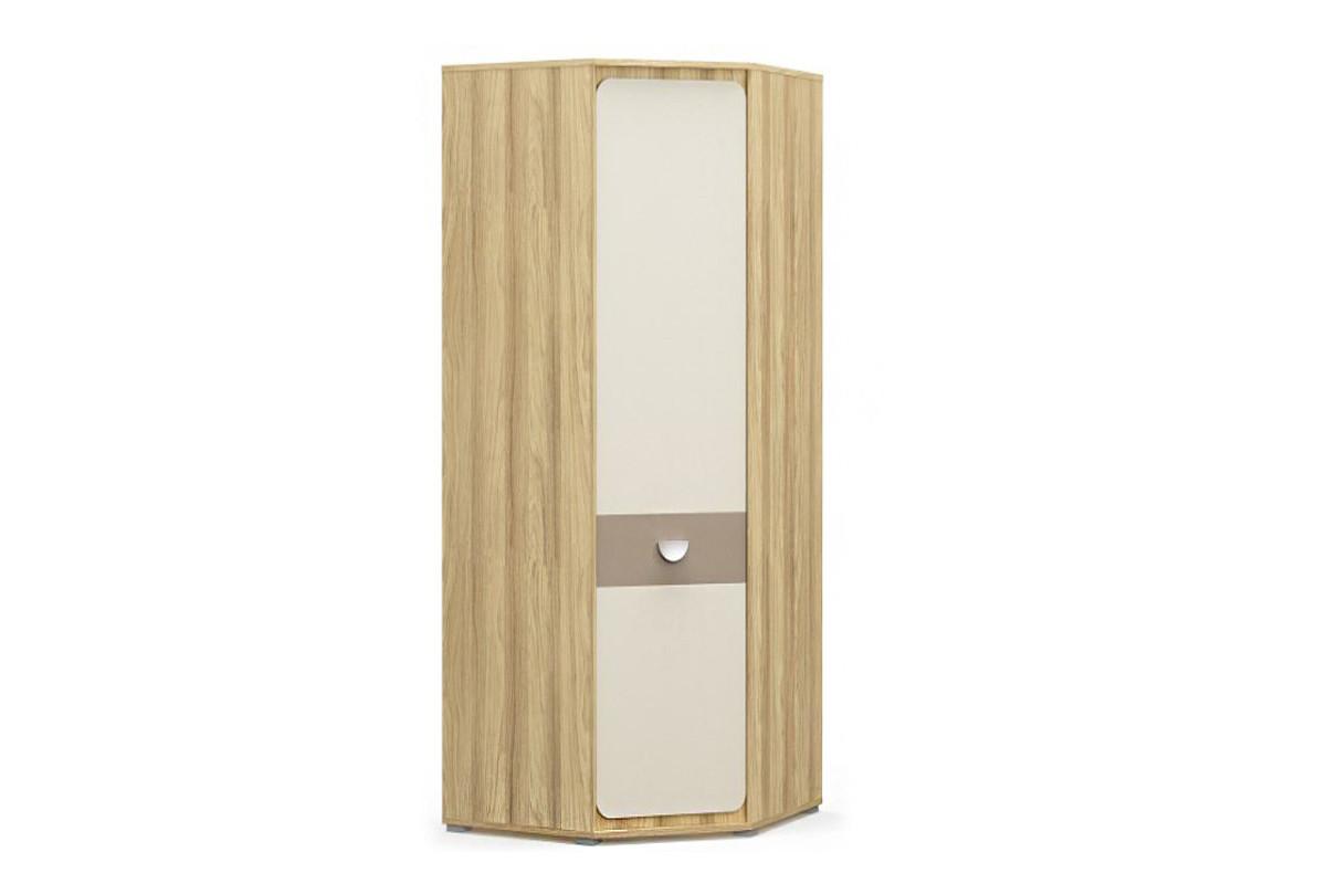 Шкаф для одежды угловой 1Д (1Д) Лами, Капучино, MEBEL SERVICE (Украина)