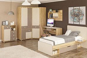 Шкаф для одежды угловой 1Д (1Д) Лами, Капучино, MEBEL SERVICE (Украина), фото 2